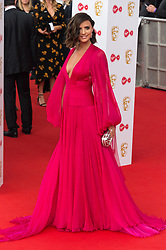 © Licensed to London News Pictures. 13/05/2018. London, UK. LUCY MECKLENBURGH  arrives for the Virgin TV British Academy (BAFTA) Television Awards. Photo credit: Ray Tang/LNP