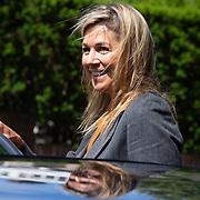 NLD/Den Haag/20200702 - Maxima onmoet vertegenwoordigers Uitvaart branche, Koningin Maxima