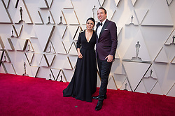 February 24, 2019 - Hollywood, California, U.S. - Gabriela Rodriguez, Oscar nominee, and guest, arrive on the red carpet of The 91st Oscars at the Dolby Theatre in Hollywood. (Credit Image: ? AMPAS/ZUMA Wire/ZUMAPRESS.com)
