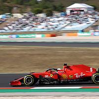 24.10.2020, Autódromo Internacional do Algarve, Portimao, FORMULA 1 HEINEKEN PORTUGUESE GRAND PRIX 2020,im Bild<br />Sebastian Vettel (GER#5), Scuderia Ferrari<br /> <br /> Foto © nordphoto / Bratic