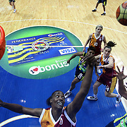 Galatasaray's Sylvia Fowles (C) during their Turkish Basketball woman league derby match Fenerbahce between Galatasaray at Ulker Sports Arena in Istanbul, Turkey, wednesday, December 26, 2012. Photo by Aykut AKICI/TURKPIX