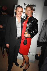TOM & CYNTHIA CONRAN at a dinner in aid of Eve Appeal, Gynaecology Cancer research Fund held at Nobu, The Metropolitan Hotel, Park Lane, London on 3rd September 2007.<br /><br />NON EXCLUSIVE - WORLD RIGHTS
