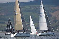 Lights winds dominated the Pelle P Kip Regatta  at Kip Marine weekend of 12/13th May 2018<br /> <br /> CYCA 4 More Misjif, Wildfire<br /> <br /> Images: Marc Turner