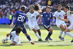 June 10, 2019 - Paris, ile de france, France - Kumi YOKOYAMA (JPN) in Action during the match between Argentina and Japan at the 2019 World cup  on June 10, 2019, at the Parc des Princes stadium in Paris, France. (Credit Image: © Julien Mattia/NurPhoto via ZUMA Press)