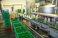 worker at Acorn Dairy, Garthorne Farm, County Durham