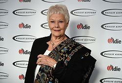 Dame Judi Dench attending The Oldie of the Year Awards, at Simpsons in the Strand, central London.