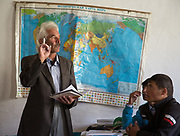 At the school, physic class of Bandali. At Roshorv villages.