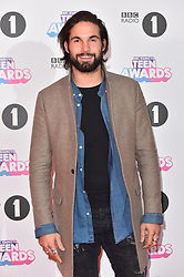 Jamie Jewitt attending the BBC Radio 1 Teen Wards, at Wembley Arena, London. Picture date: Sunday October 22nd, 2017. Photo credit should read: Matt Crossick/ EMPICS Entertainment.