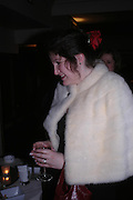 Jenny Hallinan. White Knights Ball, Grosvenor House Hotel 7 January 2005. ONE TIME USE ONLY - DO NOT ARCHIVE  © Copyright Photograph by Dafydd Jones 66 Stockwell Park Rd. London SW9 0DA Tel 020 7733 0108 www.dafjones.com