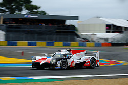 June 15, 2018 - Le Mans, Sarthe, France - Toyota Gazoo Racing Toyota TS050 Hybrid Driver FERNANDO ALONSO (ESP) in action during the 86th edition of the 24 hours of Le Mans 2nd round of the FIA World Endurance Championship at the Sarthe circuit at Le Mans - France (Credit Image: © Pierre Stevenin via ZUMA Wire)