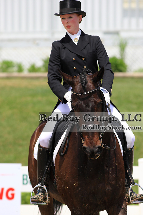 Bronwyn Barlow Cash and Nabucco at the 2010 Cornerstone Spring into Dressage CDI at Palgrave, Ontario.