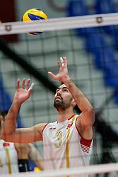19-09-2019 NED: EC Volleyball 2019 Czech Republic - Montenegro, Amsterdam<br /> First round group D Montenegro win 3-2 / Luka Babic #3 of Montenegro