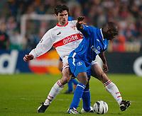 v.l. Zvonimir Soldo Stuttgart, GEREMI<br /> Fu§ball Champions League VfB Stuttgart - Chelsea FC