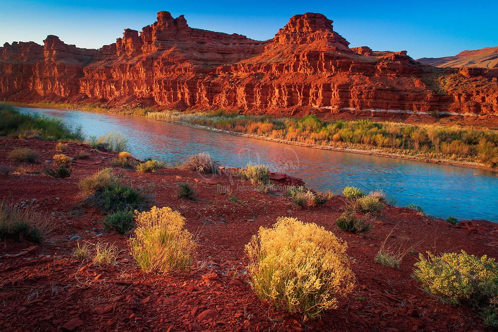 San Juan River at Mexican Hat, Utah