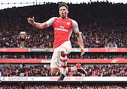 Arsenal v West Ham United 140315