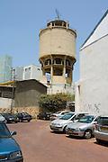 Tel Aviv, Israel, The old water tower, Maze Street,