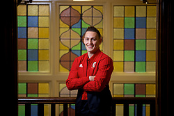 CARDIFF, WALES - Tuesday, November 13, 2018: Wales' Connor Roberts poses for a portrait during a media session at the St Fagans National Museum of History ahead of the UEFA Nations League Group Stage League B Group 4 match between Wales and Denmark. (Pic by David Rawcliffe/Propaganda)