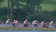Lucerne, Switzerland. 1995 FISA WC III, Lake Rotsee, Lucerne,<br /> GBR W8+ USA W8+.<br /> [Mandatory Credit. Peter SPURRIER/Intersport Images]<br /> <br /> Image scanned from Colour Negative