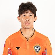 THAILAND - JUNE 25: Naruphol Ar-Romsawa #17 of Nakhonratchasrima Mazda FC on June 25, 2019.<br /> .<br /> .<br /> .<br /> (Photo by: Naratip Golf Srisupab/SEALs Sports Images/MB Media Solutions)