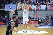 DESCRIZIONE : Paladesio Eurolega 2013-14 EA7 Emporio Armani Milano-Brose Baskets Bamberg<br /> GIOCATORE : Melli Nicolo<br /> SQUADRA :  EA7 Emporio Armani Milano<br /> CATEGORIA : Tiro<br /> EVENTO : Eurolega 2013-2014<br /> GARA :  EA7 Emporio Armani Milano-Brose Baskets Bamberg<br /> DATA : 13/12/2013<br /> SPORT : Pallacanestro<br /> AUTORE : Agenzia Ciamillo-Castoria/I.Mancini<br /> Galleria : Eurolega 2013-2014<br /> Fotonotizia : Milano Eurolega Eurolegue 2013-14  EA7 Emporio Armani Milano Brose Baskets Bamberg<br /> Predefinita :