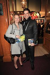 LAURA JENKINS and GETHIN JONES at the gala opening night of Cirque du Soleil's Varekai at the Royal Albert Hall, London on 5th January 2010.
