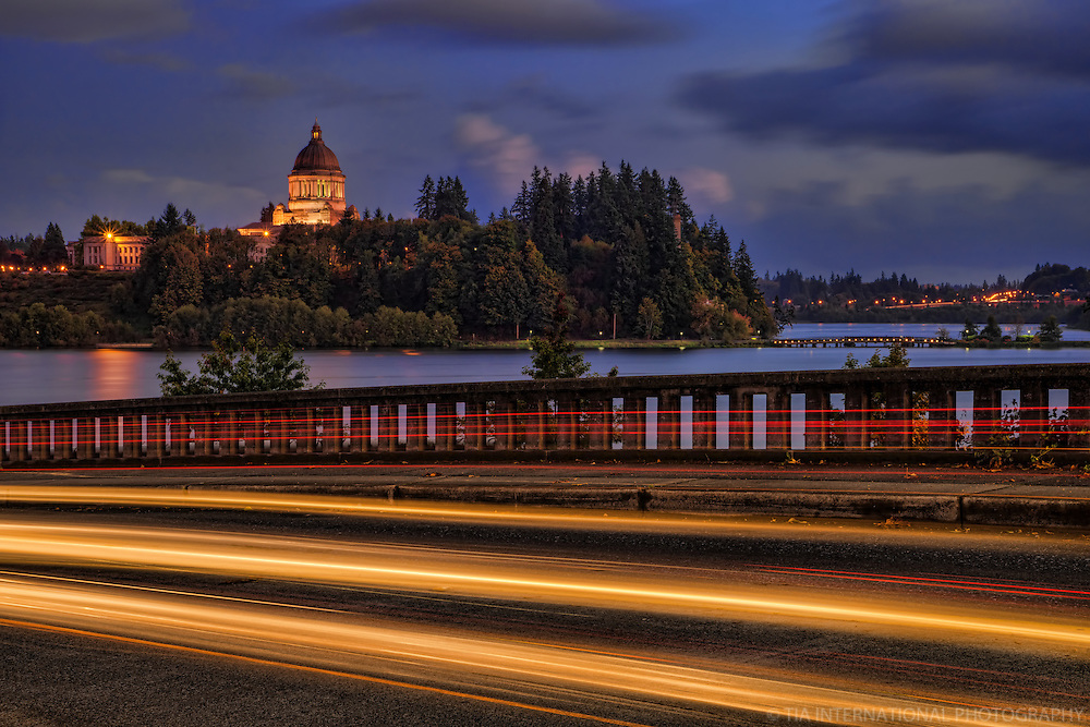 Evening in Olympia