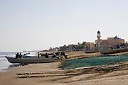 Sohar, Sultanate of Oman. January 31th 2009..The beach of Sohar.