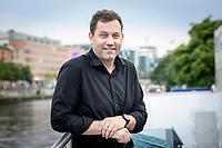 18 JUN 2020, BERLIN/GERMANY:<br /> Lars Klingbeil, SPD Generalsekretaer, Redaktionsschiff ThePioneer ONE auf der Spree<br /> IMAGE: 20200618-03-028