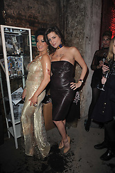 Left to right, NANCY DELL'OLIO and VANESSA NEUMANN at the launch of 2 collections by jeweller Stephen Webster - ÔThe 7 Deadly SinsÕ and ÔNo RegretsÕ held at The Old Vics Tunnels, Under Waterloo Station, Off Leake Street, London SE1 on 8th December 2010.<br /> Left to right, NANCY DELL'OLIO and VANESSA NEUMANN at the launch of 2 collections by jeweller Stephen Webster - 'The 7 Deadly Sins' and 'No Regrets' held at The Old Vics Tunnels, Under Waterloo Station, Off Leake Street, London SE1 on 8th December 2010.