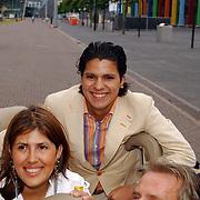 Friends Event, Hans Breukhoven en kinderen, Marvin