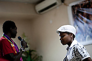 Valentine Kalende a lesbian activist who has been persecuted for her work to organize and advocate for homosexuals at a conference for homosexuals in Kampala, Uganda. The meeting was the first attempt by the LGBT community in Uganda to unite people against a proposed anti-homosexuality bill in the countries parliment.