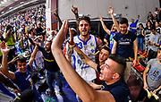 Commando Ultra' Dinamo, Achille Polonara<br /> Banco di Sardegna Dinamo Sassari - Acqua San Bernardo Cantu'<br /> LBA Serie A Postemobile 2018-2019<br /> Sassari, 12/05/2019<br /> Foto L.Canu / Ciamillo-Castoria