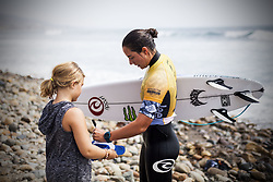 September 12, 2017 - Tyler Wright of Australia after winning her round two heat against Macy Callaghan at the Swatch Pro...Swatch Pro 2017, California, USA - 12 Sep 2017 (Credit Image: © Rex Shutterstock via ZUMA Press)