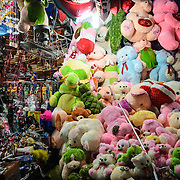 Plush toys for sale at Cho Dong Ba, the main city market in Hue, Vietnam.