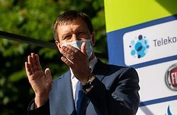 Branko Kidric, mayor of Rogaska Slatina during 1st Stage of 27th Tour of Slovenia 2021 cycling race between Ptuj and Rogaska Slatina (151,5 km), on June 9, 2021 in Slovenia. Photo by Vid Ponikvar / Sportida
