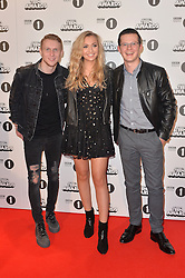Jamie Borthwick, Tilly Keeper and Harry Reid bei den BBC Radio 1 Teen Awards in London / 231016<br /> <br /> *** BBC Radio 1 Teen Awards in London on October 23, 2016 ***