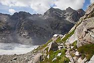 Il rifugio svizzero chiamato La capanna del Forno