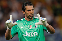 "Gianluigi Buffon Juventus,<br /> Genova 24/8/2013<br /> Stadio ""Luigi Ferraris"" <br /> Football Calcio 2013/2014 Serie A <br /> Sampdoria - Juventus <br /> Foto Marco Bertorello Insidefoto"