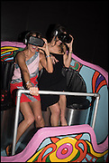 MAXINE HARGREAVES; JADE HARGREAVES ON THE OCULUS RIFT, , The World's First Fund Fair  in aid of Natalia Vodianova's charity the Naked Heart Foundation. The Roundhouse. London. 24 February 2015.
