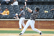 21 May 2016: Wake Forest's Jonathan Pryor. The Wake Forest University Demon Deacons played the University of Louisville Cardinals in an NCAA Division I Men's baseball game at David F. Couch Ballpark in Winston-Salem, North Carolina. Louisville won the game 9-4.