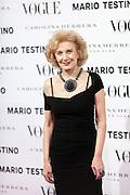 Marisa Paredes at Vogue December Issue Mario Testino Party