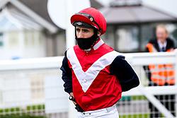 Jockey Dougie Costello - Mandatory by-line: Robbie Stephenson/JMP - 19/08/2020 - HORSE RACING - Bath Racecourse - Bath, England - Bath Races