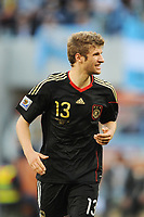 FOOTBALL - FIFA WORLD CUP 2010 - 1/4 FINAL - ARGENTINA v GERMANY - 3/07/2010 - PHOTO FRANCK FAUGERE / DPPI - THOMAS MULLER (GER)