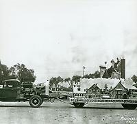 1941 Christmas Santa Claus Lane Parade on Hollywood Blvd.