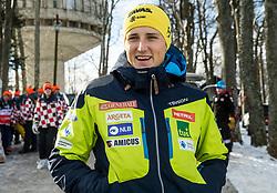 "Stefan Hadalin during FIS Alpine Ski World Cup 2017/18 Men's Slalom race named ""Snow Queen Trophy 2018"", on January 4, 2018 in Course Crveni Spust at Sljeme hill, Zagreb, Croatia. Photo by Vid Ponikvar / Sportida"