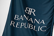 Sign for clothing shop Banana Republic.