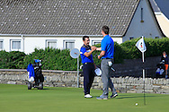 Daniel Holland (Castle) beat John Hickey (Cork) by 1 hole during Matchplay Round 2 of the South of Ireland Amateur Open Championship at LaHinch Golf Club on Friday 22nd July 2016.<br /> Picture:  Golffile   Thos Caffrey<br /> <br /> All photos usage must carry mandatory copyright credit   (© Golffile   Thos Caffrey)