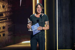 52nd Annual Country Music Association Awards hosted by Carrie Underwood and Brad Paisley and held at the Bridgestone Arena on November 14, 2018, in Nashville, TN. © Curtis Hilbun / AFF-USA.com. 14 Nov 2018 Pictured: Keith Urban. Photo credit: Curtis Hilbun / AFF-USA.com / MEGA TheMegaAgency.com +1 888 505 6342