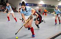 HAMBURG  (Ger) - Rotweiss Wettingen (Sui)  v  MHC Laren (Ned).  foto:  Macey de Ruiter (Laren)       , Eurohockey Indoor  Club Cup 2019 Women . WORLDSPORTPICS COPYRIGHT  KOEN SUYK