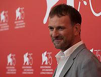 Director David Oelhoffen at the photocall for the film Freres Ennemis (Close Enemies) at the 75th Venice Film Festival, on Saturday 1st September 2018, Venice Lido, Italy.